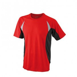 TEE-SHIRT TECHNIQUE RUNNING HOMME RESPIRANT COL ROND